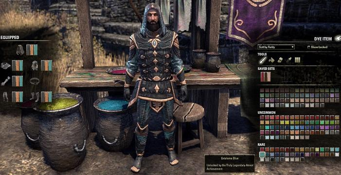 How to Obtain Dyes in ESO Update 3