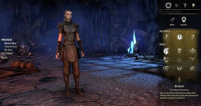 eso character